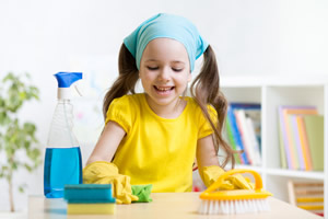 Get Your Children Involved in cleaning