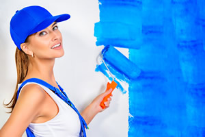 painting walls inside of your home