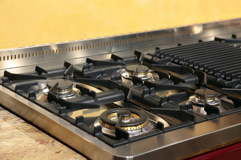 professional house cleaning tips to clean Stove and Countertop