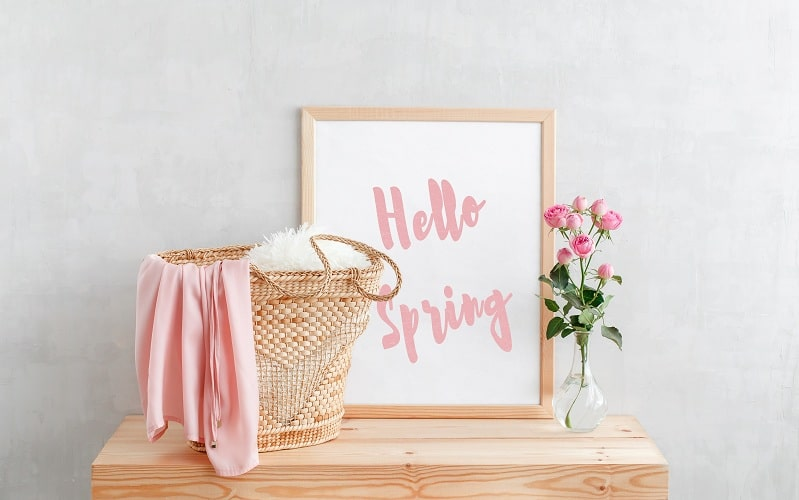 Bring Spring Into Your Home With Decorating