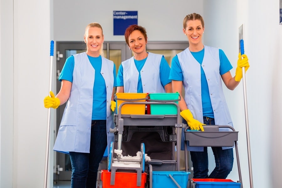 How To Make The Best Use Of Your Professional Commercial Cleaners