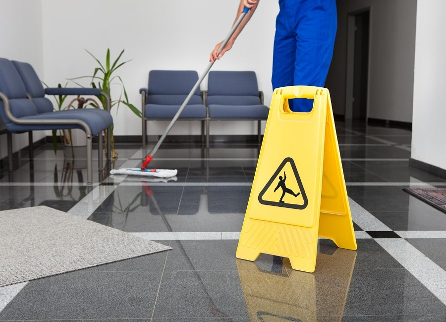 Cleaning and Sanitizing of Reception Areas Are Essential